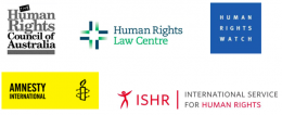 NGO letter on human rights situation in Egypt